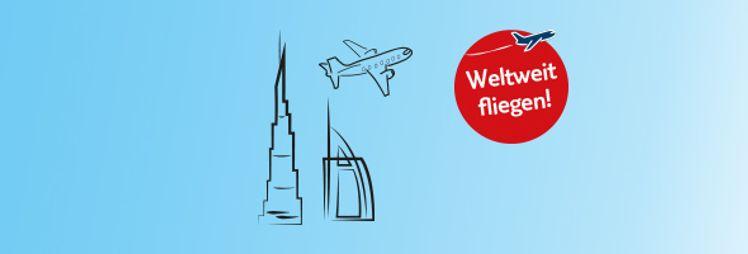 Auf nach Dubai - TUI Flug